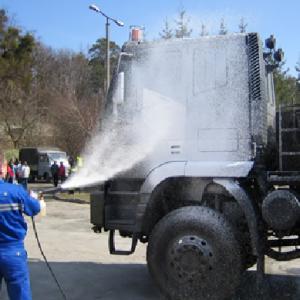 Mycie i dezynfekcja pojazdów ciężarowych