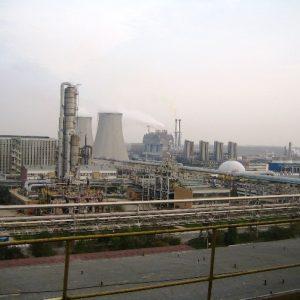 Czyszczenie międzystropia w kotle energetycznym